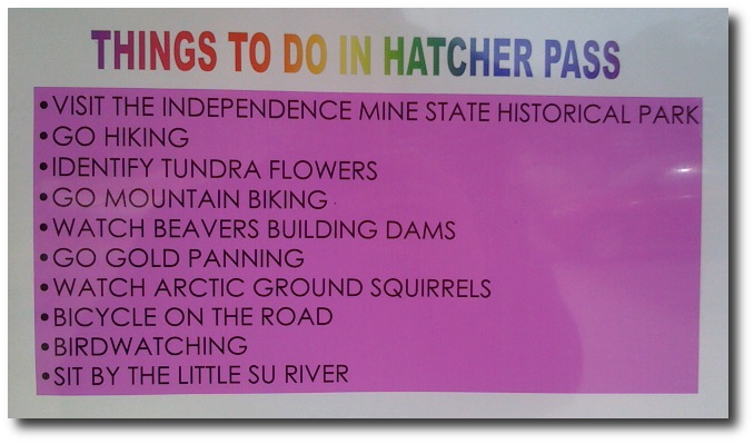 Things to do in Hatcher Pass, Alaska
