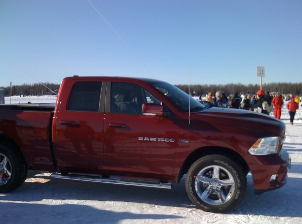 2011 Iditarod winner prize - New truck (Dodge Ram)