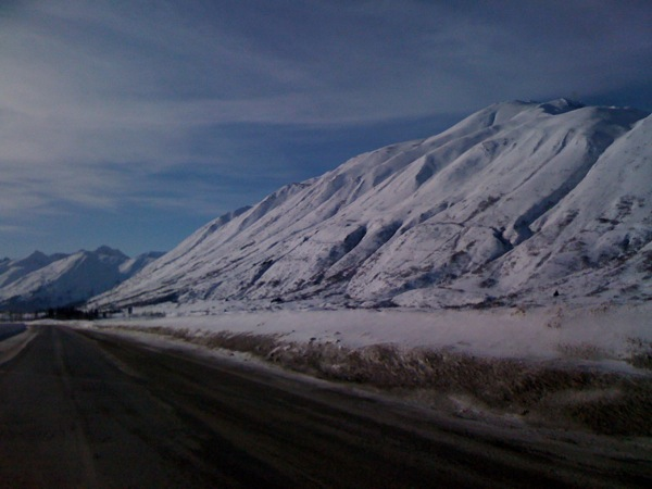 Vacation drive to Seward, Alaska