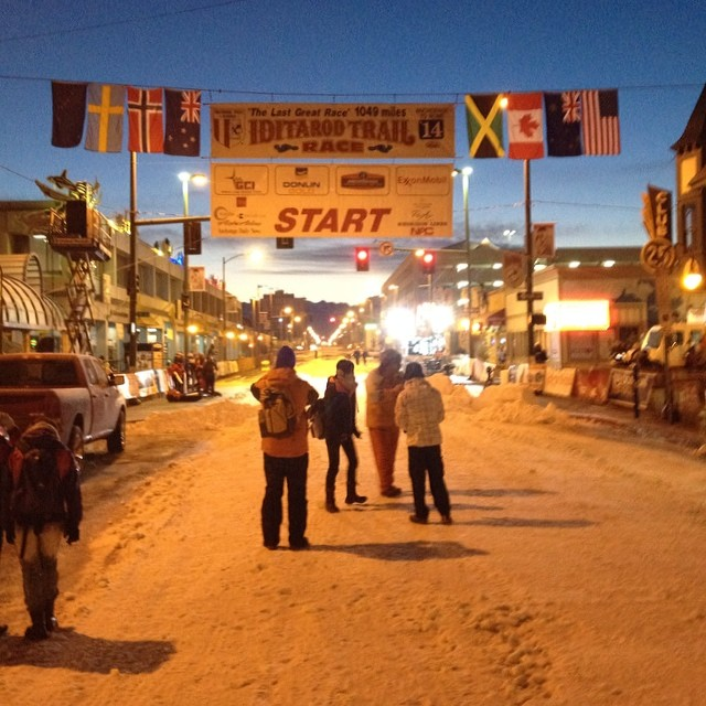 The 2014 Iditarod race begins
