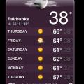 Fairbanks weather in September