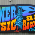 """Homer """"Music and Recording"""" sign"""