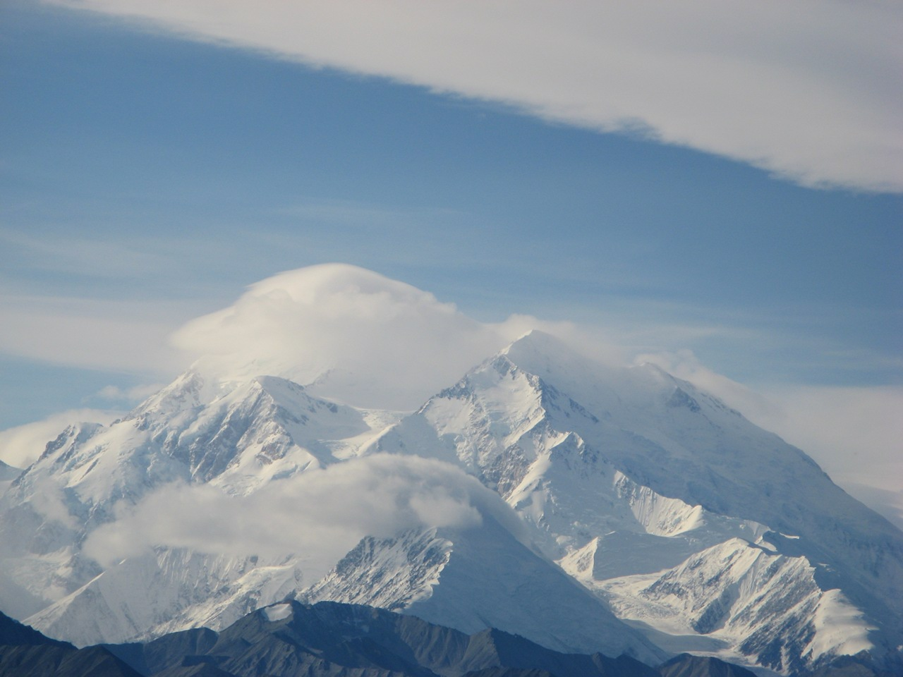 A view of Denali, from Fish Creek.