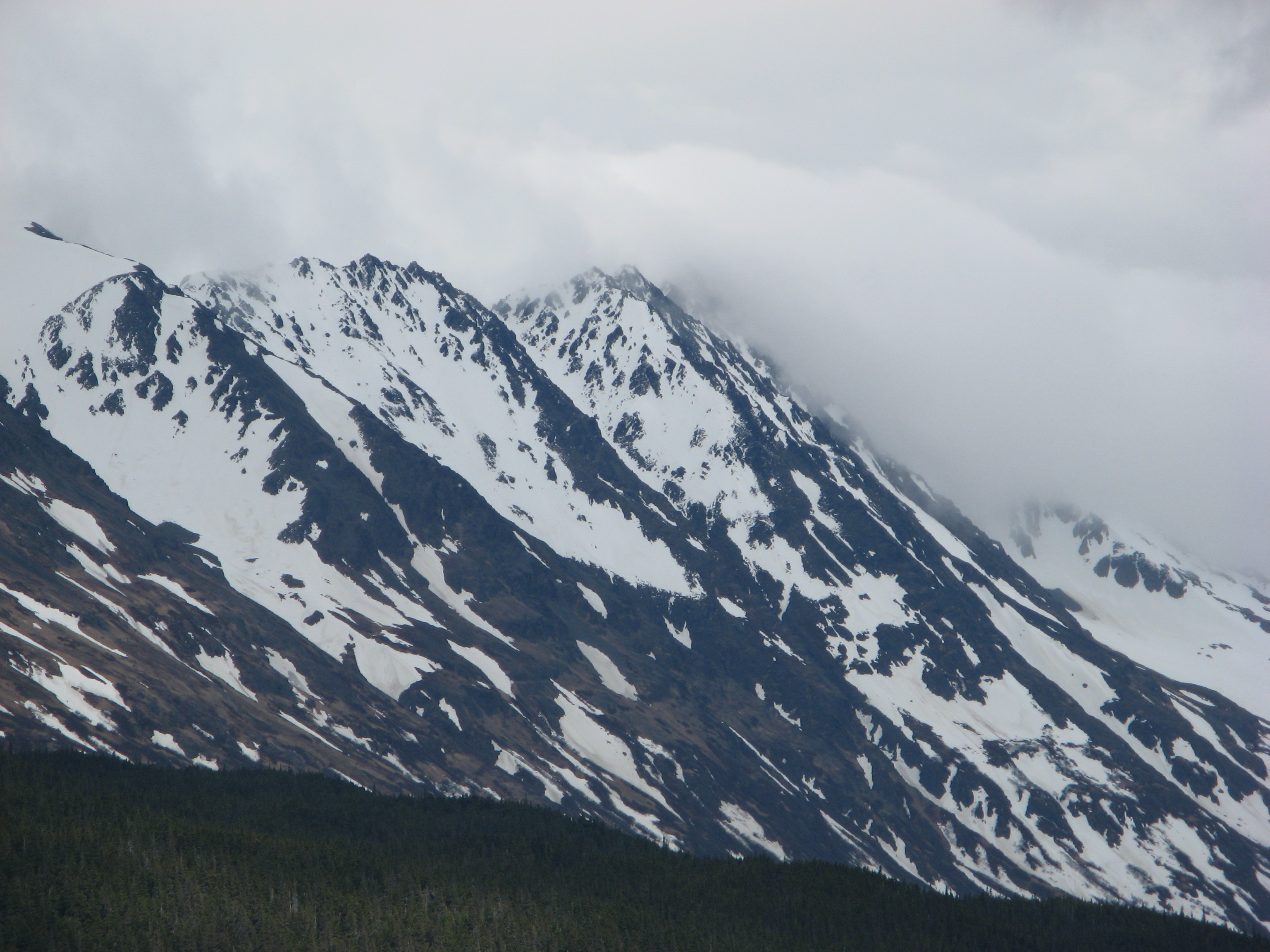 Mountains near Seward, Alaska.