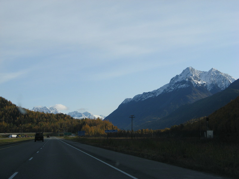 View from Anchorage to Wasilla.