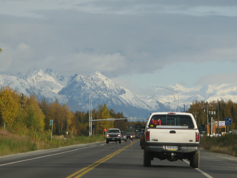 Wasilla, the business town.