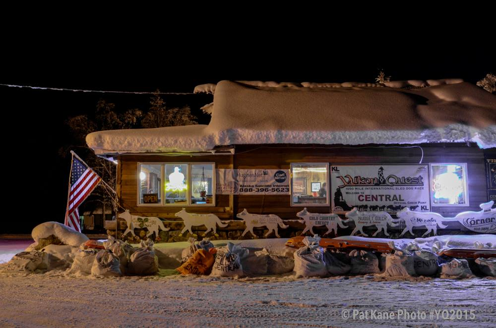 Yukon Quest - Central checkpoint.