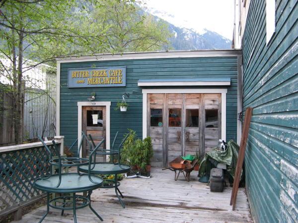 The Bitter Creek Cafe in Stewart