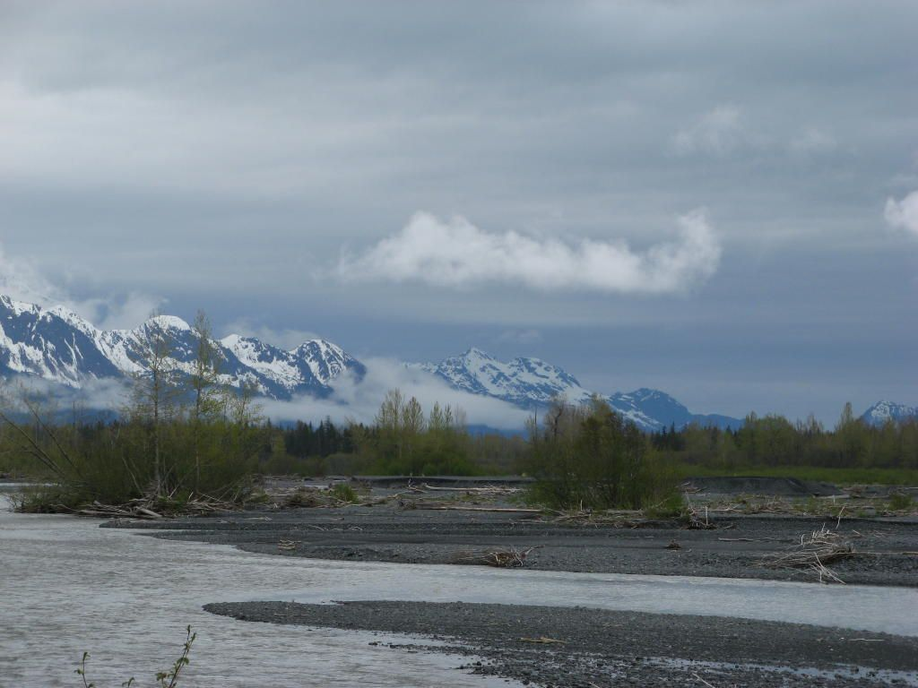 A picture taken while I was walking (Seward, Alaska)