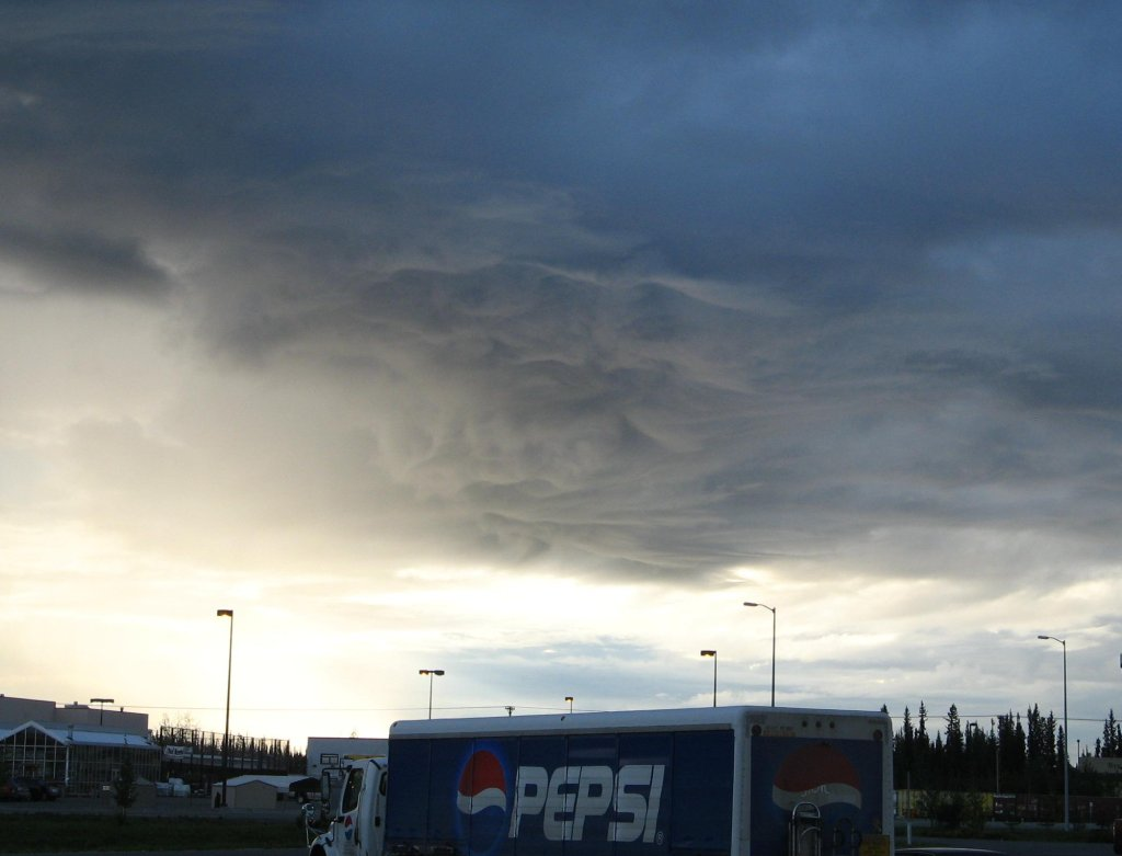 Crazy clouds over Fairbanks