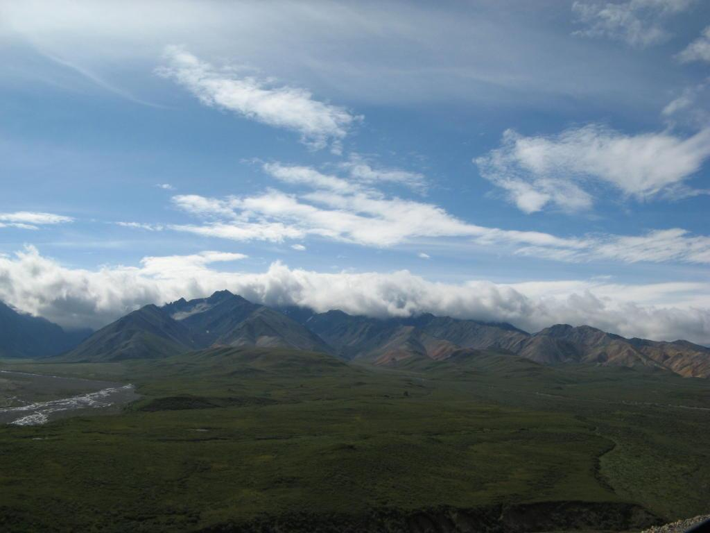 A mountain range in Denali