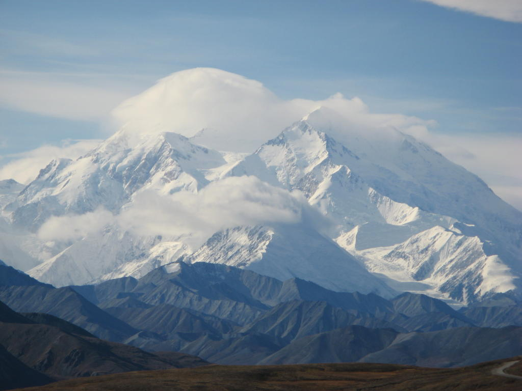 A view of Denali from Fish Creek.