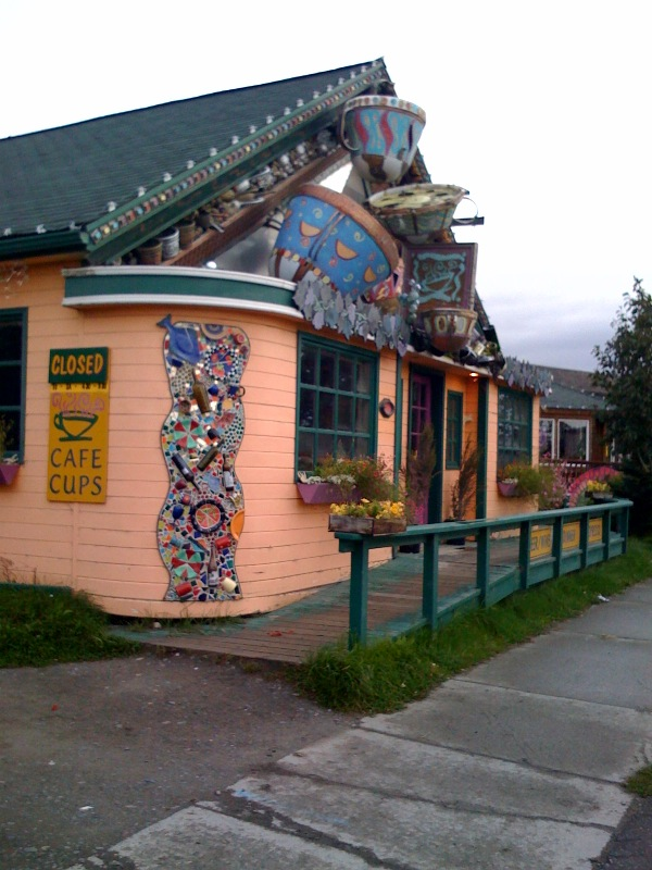 Cafe Cups restaurant in Homer, Alaska
