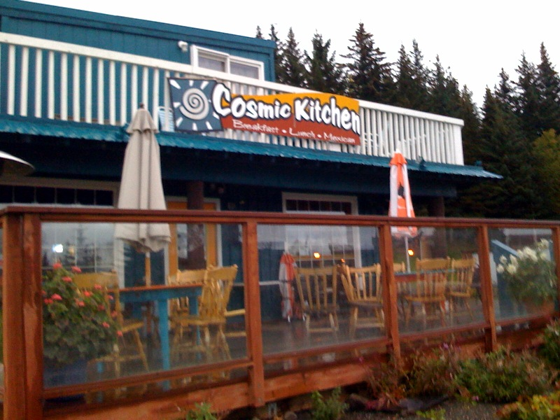 The Cosmic Kitchen in Homer, AK