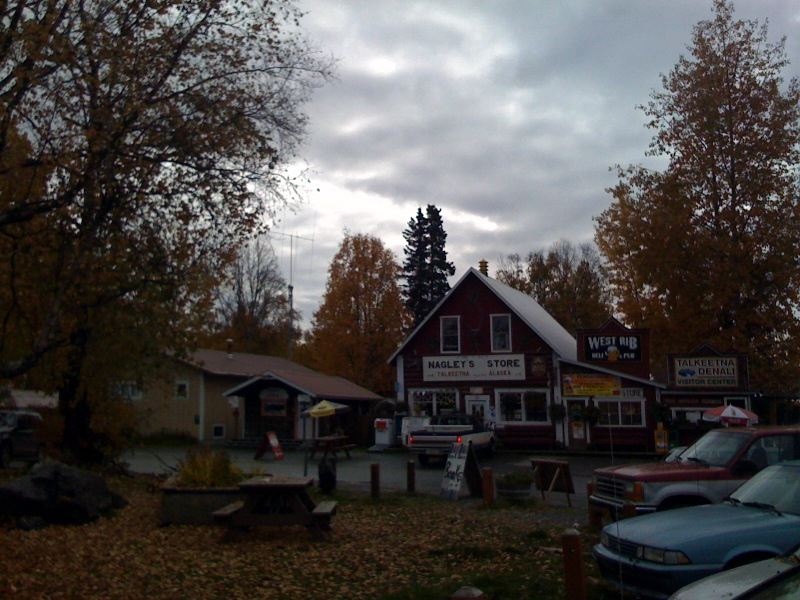 Nagleys grocery store in Talkeetna, Alaska