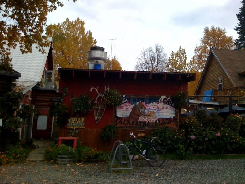 West Rib Pub and Grill in Talkeetna, Alaska