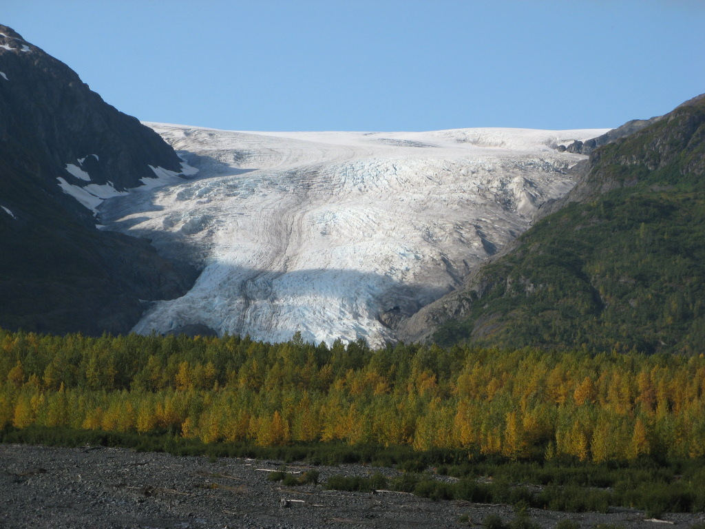 Exit Glacier, Seward, Alaska, on September 21, 2008