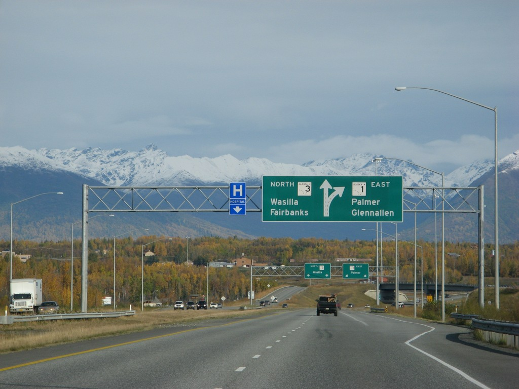 Mountains Over Wasilla