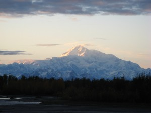 A picture of Denali, taken from Talkeetna