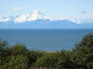 Mt. Iliamma and Mt. Redoubt
